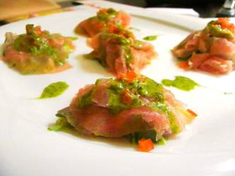 Tuna carpaccio... by ANDROXA
