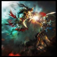 Decisive battle by vega218
