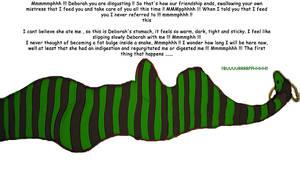 When friendship is snake food Final by Bartz45