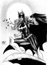 Batgirl. by Leomatos2014