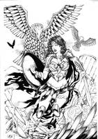 Wonder Woman. by Leomatos2014