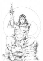 Dejah Thoris by Leomatos2014