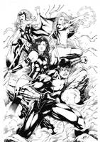 X Men by Leomatos2014