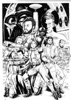 Star Wars Rogue One by Leomatos2014
