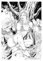 Jungle Girl by Leomatos2014
