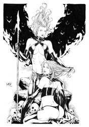 Goblin Queen and Black Queen by Leomatos2014