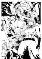 Fantastic Four by Leomatos2014
