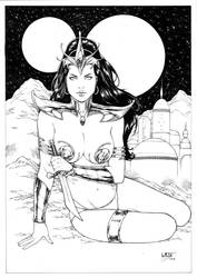 Dejah Thoris by Leomatos2014