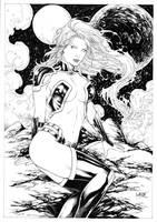 Starfire by Leomatos2014