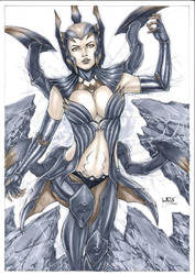 Elise the Spider Queen - League of Legends by Leomatos2014