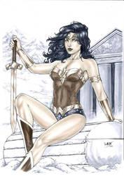 Wonder Woman by Leomatos2014