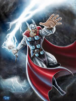 Thor by DAVID-OCAMPO