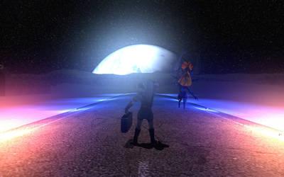 Mass Effect - Zelda by LaHire