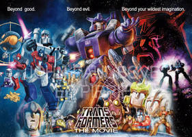 Transformers The Movie Trilogy by wordmongerer
