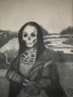 Charcol Mona Lisa by lisusha