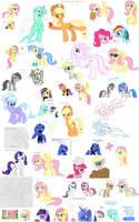 Flock Ponies by Kasun05