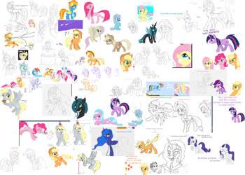 Flock Ponies 2 by Kasun05