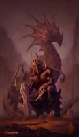 Dragon Master by kolokas