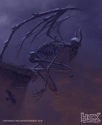 HEX MMO TCG Scars of War - Crowbones by kolokas