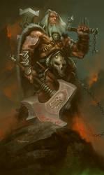 Diablo Barbarian by kolokas