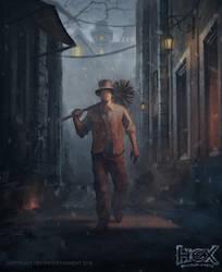 HEX-Doombringer-Nameless Dustman by kolokas