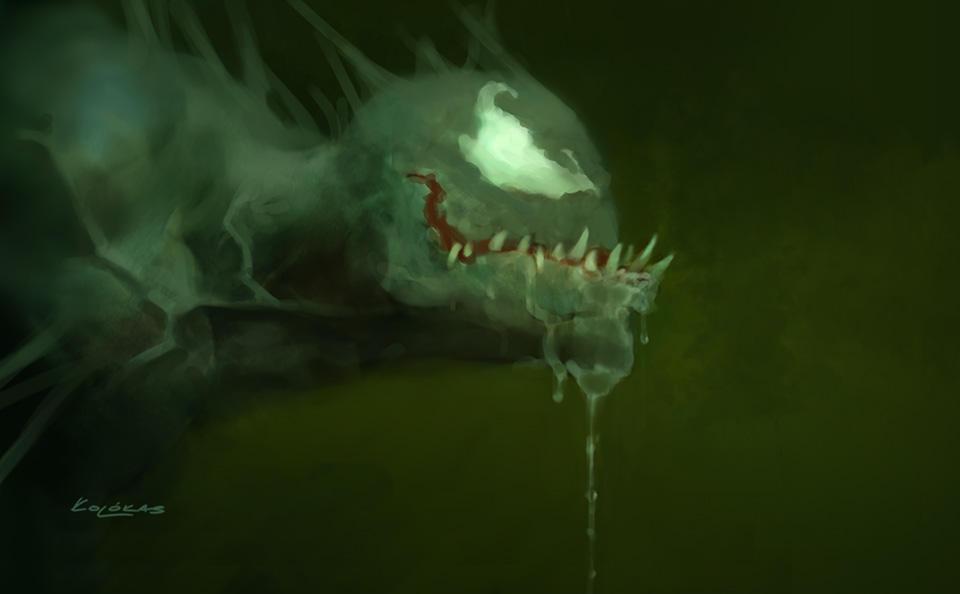 Venom sketch by kolokas