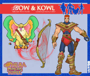 my Bow and Kowl concepts by OctobersDream