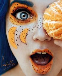mandarina. by cristina-otero