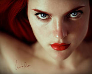 fire dancer. by cristina-otero