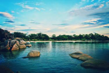 Laskar Pelangi Beach by muhadi65