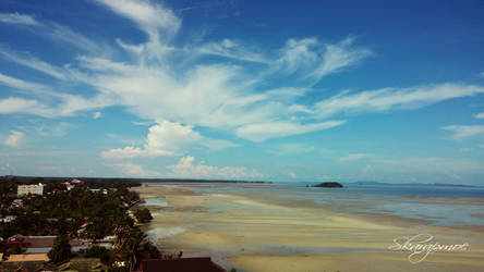Sea receding by muhadi65