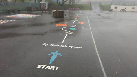 Play Area Activity Trails UK by PlaygroundMarkings