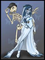 Happy Halloween-Corpse Bride by niteshadepromise
