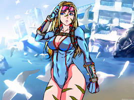 Cammy White (street fighter and street fighter v)  by Ashkanie2