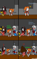 (Old) Ennard's Surprise! Pt. 1 (Fnaf 6) Comic Dub by RedThunder101