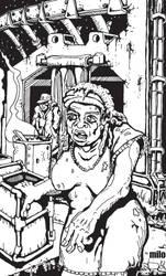 Bag Lady by Milo-Psychoblab