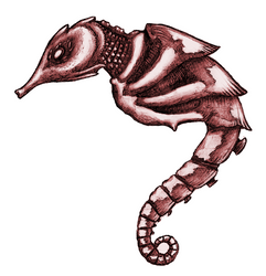 Seahorse... Thing? by 11nephilim