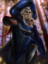 Claude Frollo by Jgass