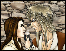 Labyrinth: Jareth and Sarah by DeathdealerTsunade