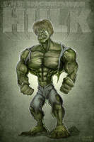 The Incredible Hulk by Noumier