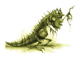 Iguana by Noumier