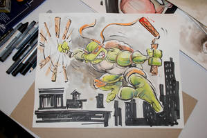 TMNT Mikey by Noumier