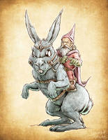 Giant Rabbit by Noumier