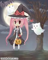 Halloween Night by hanahello
