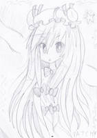 Patchouli Sketch 2 by hanahello