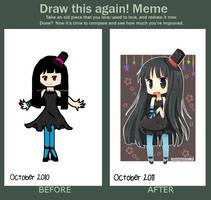 Draw This Again Meme by hanahello