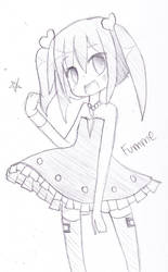 Fumme Sketch 2 by hanahello