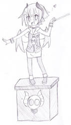Beryl sketch 2 by hanahello