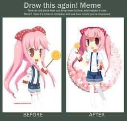 Draw This Again Meme 4 by hanahello
