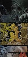 Lovecraft Inspired Comic by luismonteiro